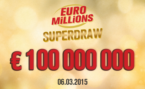 Get ready for Euromillions Superdraw this Friday!