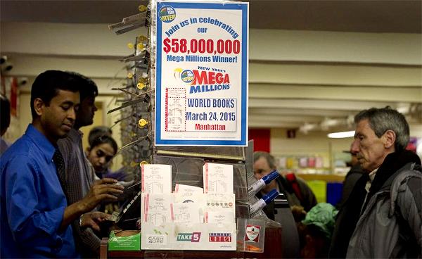 $58.000.000 Mega Millions ticket sold in New York