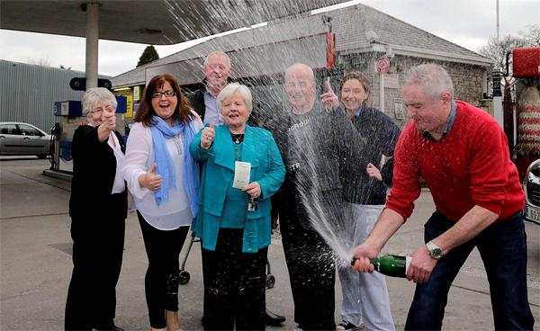 Irish family shares €10.650.000 lottery prize