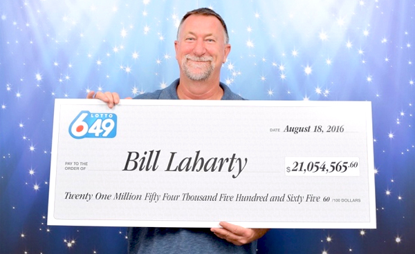 Nanaimo resident scoops $21.000.000, the largest Canadian jackpot ever won online