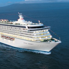Crystal Cruises - Crystal Serenity at sea