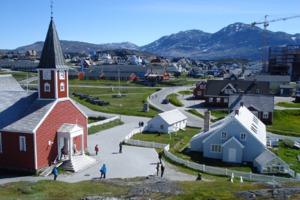 Church in Nuuk, Greenland