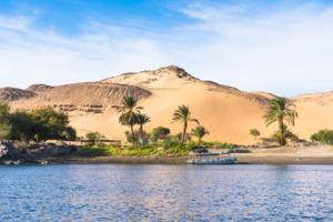 Sand dune near Aswan