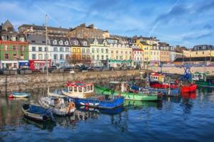 Cobh harbour, Ireland