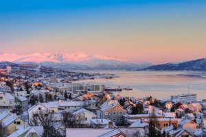 Tromso, Norway in winter