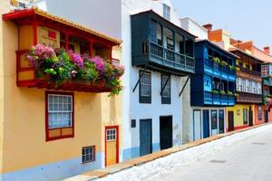 Balconies in Santa Cruz de La Palma