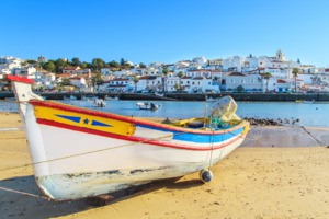 Boat in Portimao, Portugal