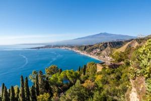 Bay of Giardini Naxos, Sicily