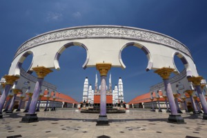 Masjid Agung Jawa Tengah, Semarang, Indonesia
