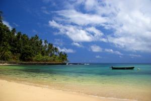 Beach in São Tomé
