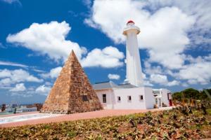 Lighthouse in Port Elizabeth, South Africa