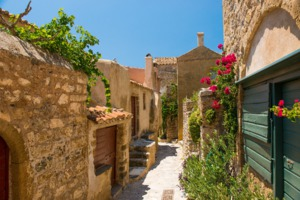 Streets of Monemvasia, Greece