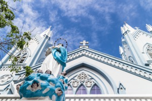 Cathedral of the Immaculate Conception in Puerto Princesa, Palawan