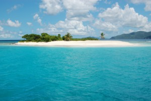 Sandy spit, Jost Van Dyke, British Virgin Islands