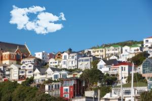 Houses in Wellington, New Zealand