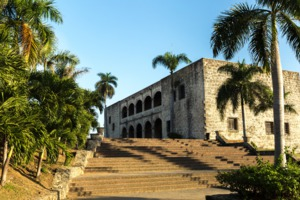 Alcazar de Colón in Santo Domingo, Dominican Republic