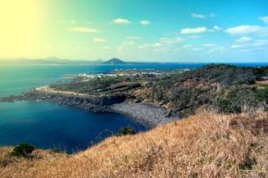 Udo island, near Jeju, South Korea