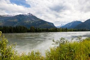 Skeena river near Prince Rupert, Canada