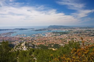 View of Toulon, France