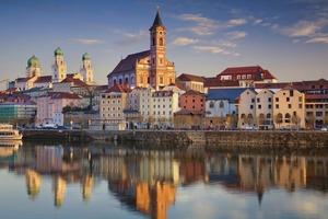 Sunset in Passau, Germany