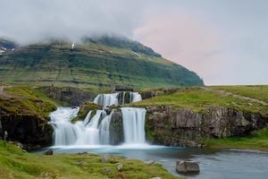Kirkjufellsfoss near Grundarfjordur, Iceland