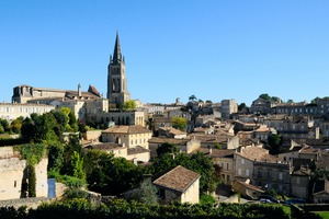 Saint-Emilion, near Libourne, France