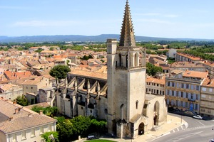 St Martha's Church in Tarascon, France
