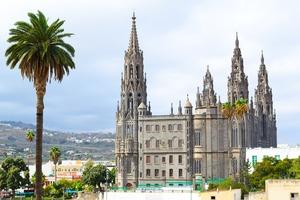 Church of San Juan Bautista in Arucas, Gran Canaria