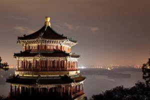Summer Palace at night, Beijing