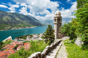 View over the old town, Kotor