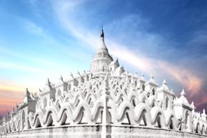 Hsinbyume pagoda, Mandalay