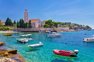 The island of Hvar, Croatia
