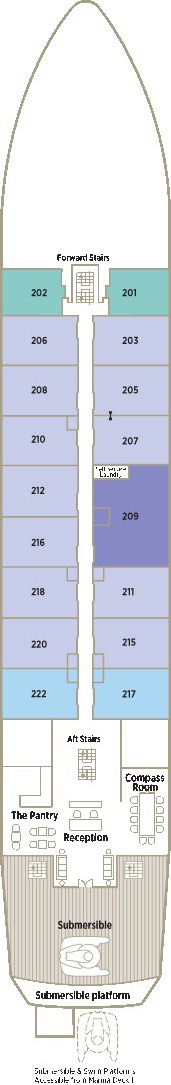 Crystal Esprit Deck Plans - Seabreeze Deck