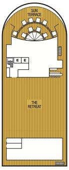 Seabourn Encore deck plans - Deck 12