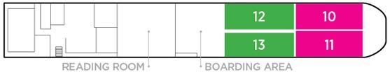 Zambezi Queen deck plans - Lower Deck