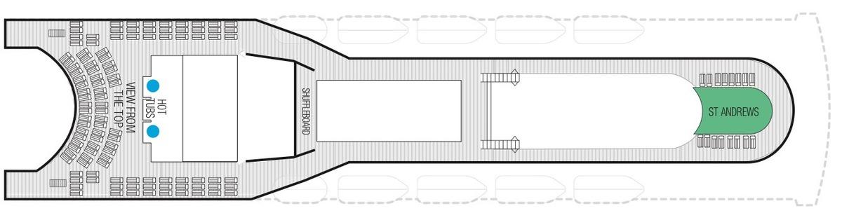 Saga Sapphire deck plans - Deck 12