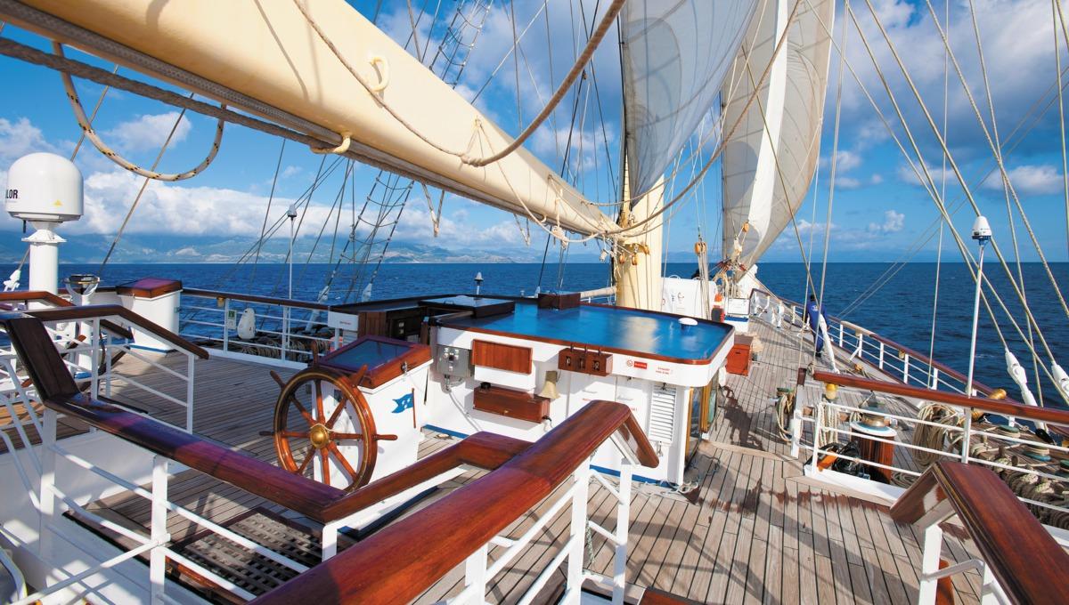 Star Clipper deck
