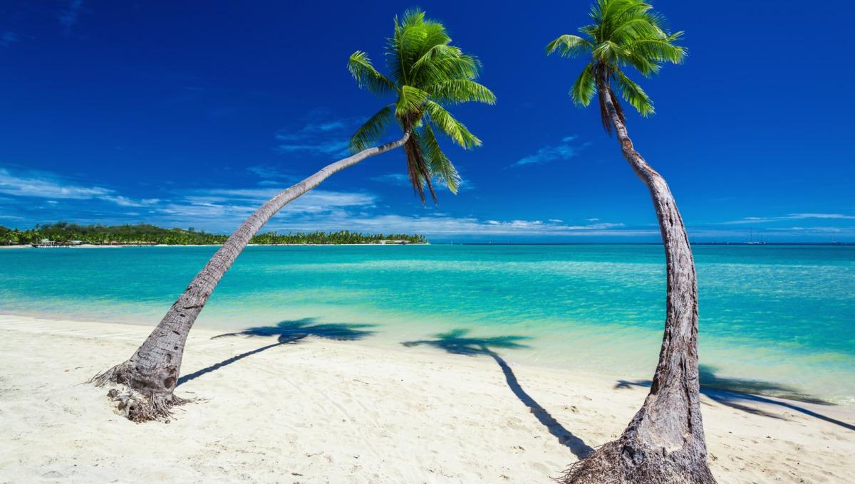 Beach in Fiji