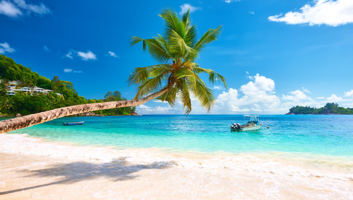 Mahé beach, Seychelles