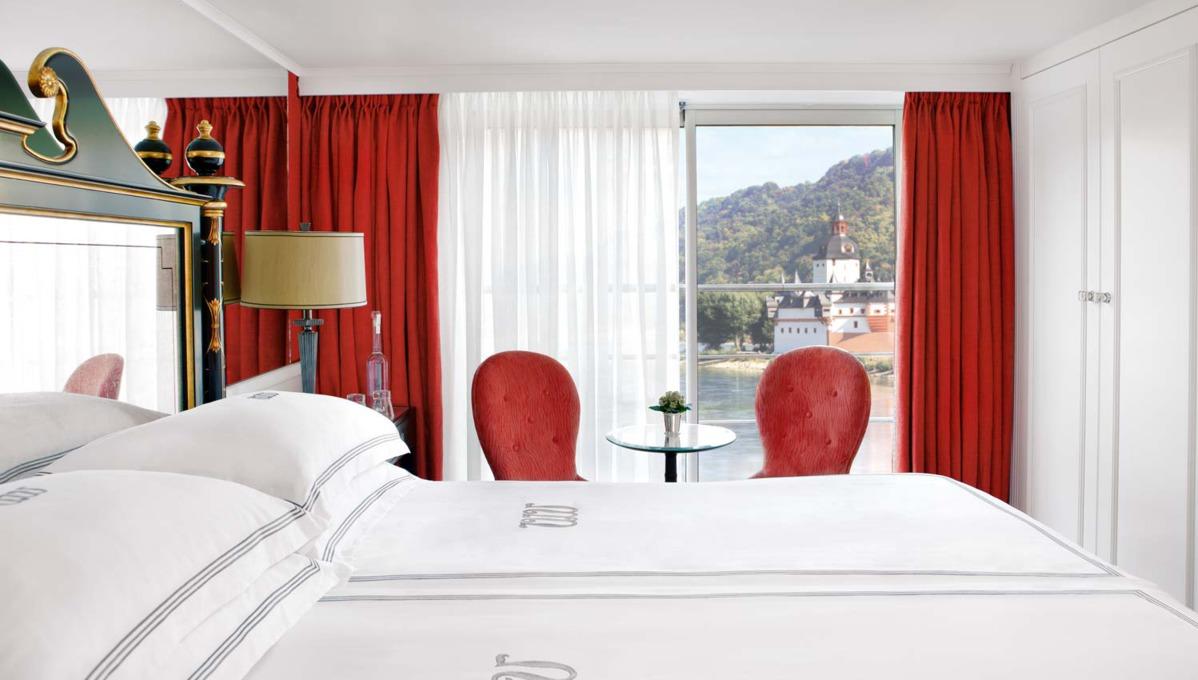 Uniworld River Princess suite