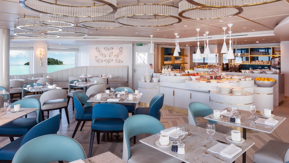 Crystal Cruises - Crystal Esprit Patio Café