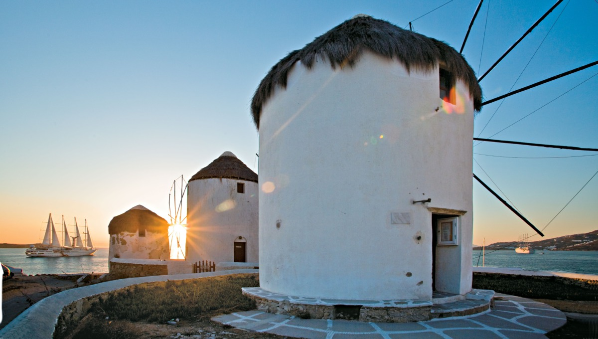 Windstar Cruises - Wind Star / Wind Spirit in Mykonos, Greece