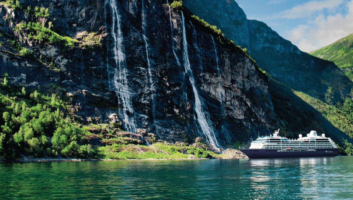 Azamara Club Cruises - Azamara Journey in Geiranger