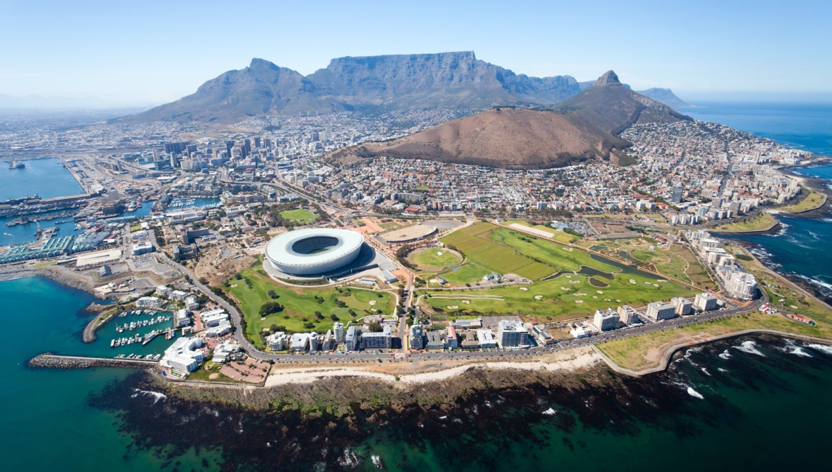 Cape Town, South Africa - Part of Oceania's 2018 World Cruise