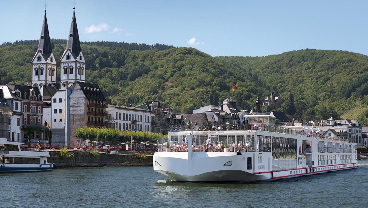 Viking Cruises - Viking Freya in Boppard on the Rhine