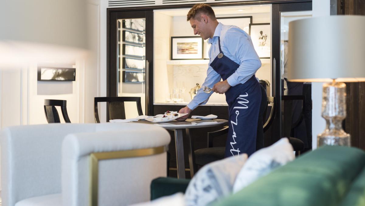 Crystal River Cruises butler service
