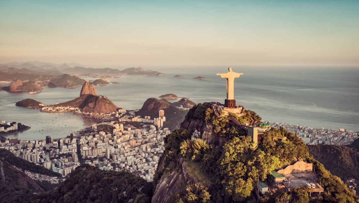 World cruise - All seven continents - Christ the Redeemer, Rio de Janeiro