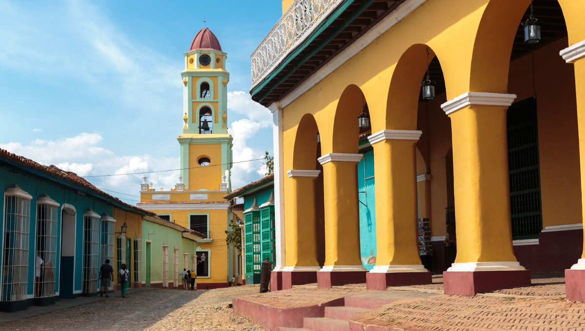 Visit Trinidad on a Cuba cruise in 2017