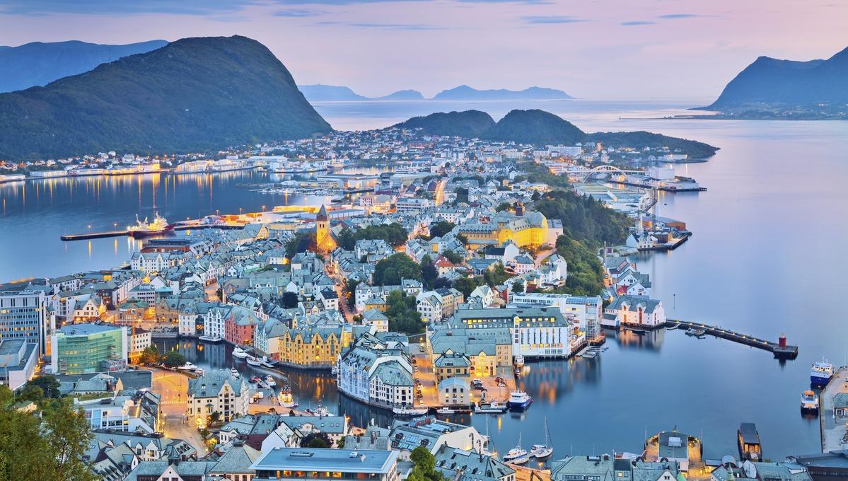 Alesund, a highlight of cruising the Norwegian Fjords