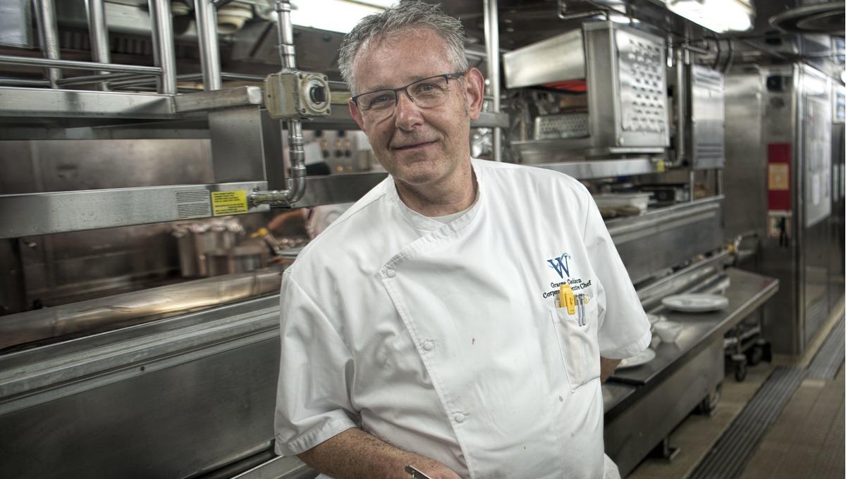 Graeme Cockburn, Corporate Executive Chef at Windstar Cruises